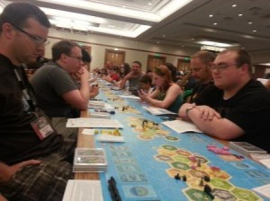 922 players on one game set the record for largest game of Catan at GenCon 2013.