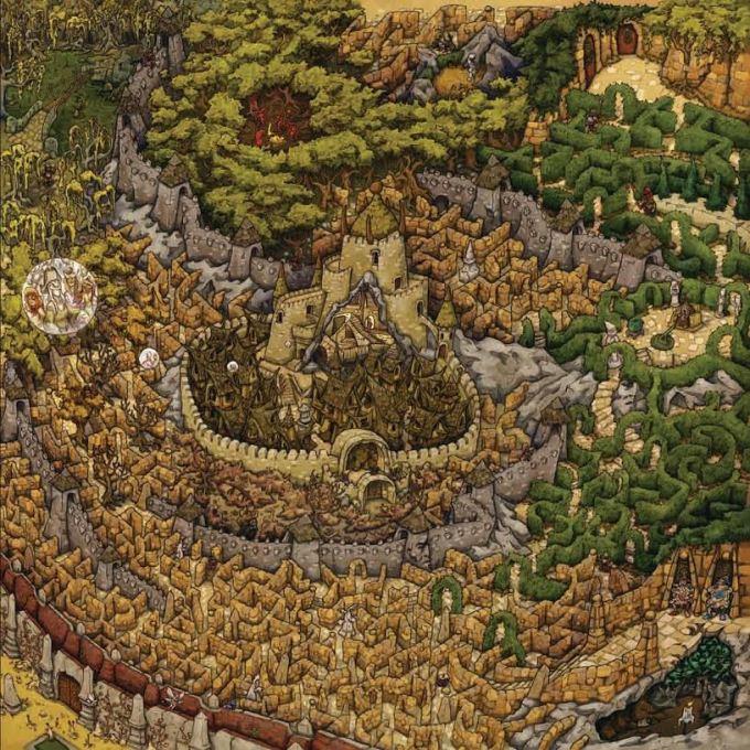 Labyrinth-board