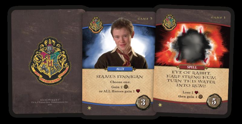 Harry Potter Hogwarts Battle Game QUIBBLER Gencon Promo Card 2018